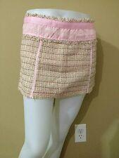 Wet Seal Women's Luxe Pink Knit Mini Skirt - Juniors Size 13 - NWT