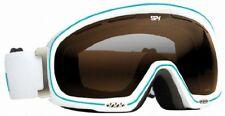 Spy + Bias Snow Goggles White Rose Persimmon Lens Ships Free