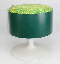 MID CENTURY Tulpin Hocker - Vintage Utensilo - Nähgarnkasten 60er Jahre stool