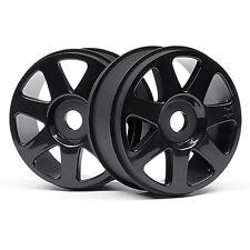 HPI Racing V7 Wheel Black 42 x 83mm 2Pcs 103677