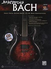 German Schauss Shredding Bach Learn to Play Guitar TAB Music Book