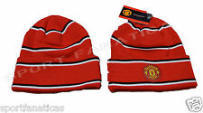 Manchester United Beanie Skull MUFC Winter hat Cap official licensed MUFC