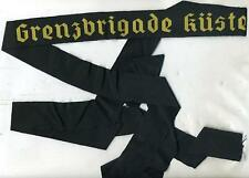 EAST GERMAN NVA NAVY CAP HAT BAND GRENZBRIGADE KÜSTE