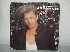 DON JOHNSON - HEARTBEAT 45 RPM