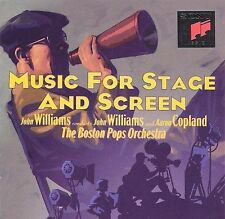 Music for Stage and Screen by John Williams (Film Composer) (CD, Apr-1994,.NEW