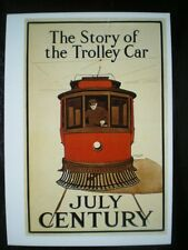 POSTCARD BUS/ TRAM THE STORY OF THE TROLLEY BUS