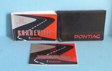 98 1998 Pontiac Bonneville owners manual