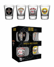 Guns N Roses- 4 Shot glasses -  NEW IN BOX