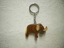 "Schlüsselanhänger ""Mammut"" (Holz) / Keychain ""Mammoth"" (Wood)"