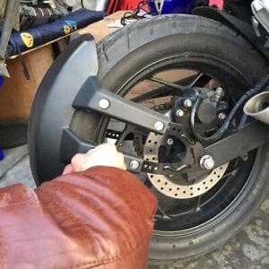 Motorcycle Rear Wheel Cover Fender License Plate Frame Splash Guard Bracket ×1