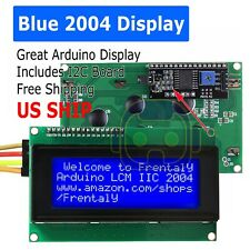 Blue Serial IIC/I2C/TWI 2004 204 20X4 Character LCD Module Display For Arduino