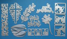 Various Metal Craft Cutting Dies / Card Making & Scrapbooking FIXED 66p UK P&P