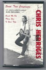 Chris Herriges, Sweet True Companion, In Your Time, WAY RARE cassette! 4 songs