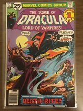 Tomb Of Dracula 47 VF Blade & Hannibal King appearances