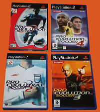 PRO EVOLUTION SOCCER / 2/3/4 -  DVD 's SET - PS2