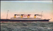R.M.S. TITANIC VINTAGE SHIP SUNK POSTCARD COPY