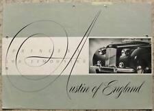 AUSTIN PRINCESS LWB LIMOUSINE LF Brochure c1955 #951A