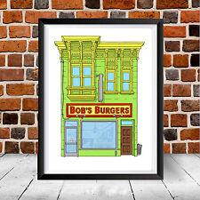 Bob's Burgers House Framed Poster Print Louise Belcher Home Art Gift Cartoon