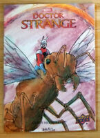 2016 UPPER DECK DOCTOR STRANGE 1/1 HAND DRAWN SKETCH CARD * ANT MAN & ANTONY*