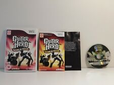 Guitar Hero World Tour PAL Version Wii (Does not work on U.S. Consoles)