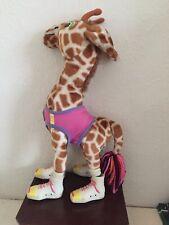 Michael's Pets Michael Jackson Jabbar The Giraffe Plush Toy Ideal Toys 1987 Rare