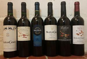 6 Flaschen Rotwein von Rothschild