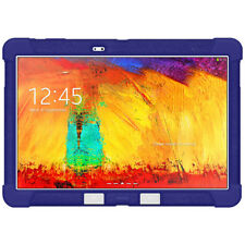 AMZER Rugged Soft Silicone Rubber Case for Samsung Galaxy Note 10.1 2014