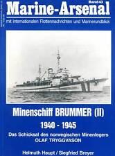 Arsenal maritime 43 Mines de navire Brummer II Tryggvason Mouilleur de mines
