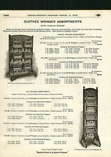 1910 ADVERTISEMENT Norvell Shapleigh Clothes Wringer Store Display Rack