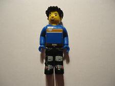 MINIFIGURE BLACK LEGS/BLUE TORSO PART CRE003 MAX