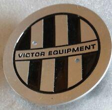 VICTOR EQUIPMENT CENTER CAP . ( BLACK INSTEP )