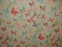 4 Metre Prestigious Textiles Butterfly Vintage Cotton Fabric Curtain Upholstery