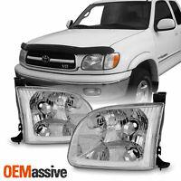 Fit 00-04 Toyota Tundra Standard Limited Access Cab Pair Headlights Headlamp
