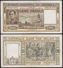 100 FRANCS 1948 BELGIQUE / BELGIE 100 FRANK / BELGIUM - P126