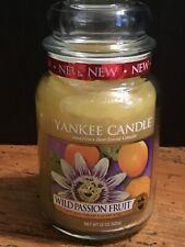 Yankee Candle Wild Passion Fruit Large Jar 22oz
