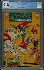 ADVENTURE COMICS #364 CGC 9.4 (1/68) DC COMICS