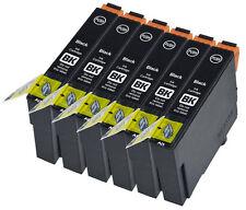 6 Compatible E1281 Noir Jet d'encre Cartouche d'impression, pour T1281 T128440