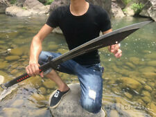 1095 HIGH CARBON  STEEL  SHARP CHINESE BIG DAO SWORD CAN CUT TREE