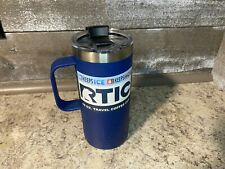 RTIC 16 Oz Stainless Steel Travel Coffee Cup, Vacuum Insulated Blue