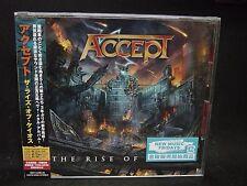 ACCEPT The Rise Of Chaos JAPAN CD Wolf Hoffmann Don Dokken TT Quick Riff Raff
