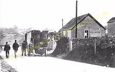 Waterhouses Railway Station Photo. North Staffs & Leek & Manifold Railways. (10)