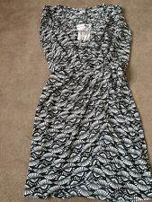 Alice & You Black Aztec cross over dress Size 12