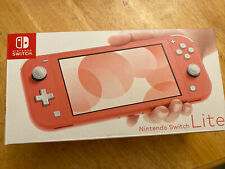 Nintendo Switch Lite Console Coral Pink New (only opened to check contents)