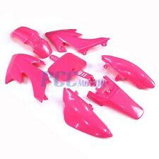 PINK PLASTIC FENDER KIT HONDA CRF XR XR50 CRF50 50 SDG PIT DIRT BIKE H PS05