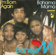 "45 TOURS / 7"" SINGLE PROMO--BONEY M--I'M BORN AGAIN--1979"