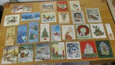 Vintage Lot 25 Unused Christmas Cards & 1 Bookmark Sunshine Pollyanna +