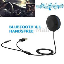 New Bluetooth 4.1 Hands-Free Car Kit Audio Wireless Music Receiver Speakerphone