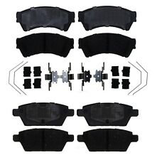 Front and Rear Ceramic Brake Pads Set Kit ACDelco For Fusion MKZ Zephyr Milan