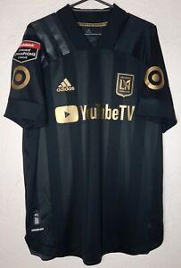 MLS Los Angeles LAFC Carlos Vela Concacaf Aeroready Player Issue Soccer Jersey