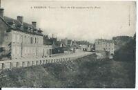 CPA 89 - BRIENON - Quai de L'Armançon vu du Pont